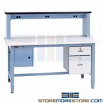 ESD Lab Workstation Electronic Testing Work Bench Table Pro-Line TSHD7230ESD