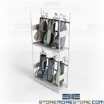 Golf Bag Storage Rack Club Storage Shelving