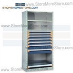 Industrial Modular Drawer Shelving R5SEC-7548092 | Industrial Shelves 36 x 18 x75