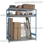 auto parts room sheet metal racks srp1420