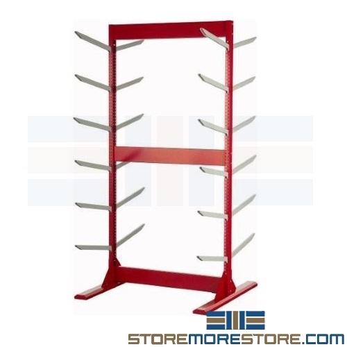 Car bumper cover rack wma3510 auto parts room shelving for Parts room organization
