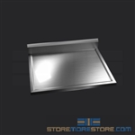 "30"" Stainless Steel Countertop with Stainless Steel Hat Channels - Box Marine Edge, #SMS-84-CTC3030-BM"