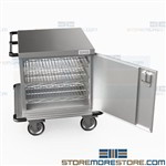 Closed Operating Room Carts Hospital Instrument Storage Transport Eagle ELCSC-1