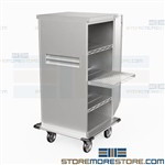 Medical Case Carts Surgical Instrument Storage Transportation Eagle ELCSC-3