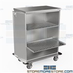Surgical Case Cart Picking Instruments Operating Room Carts Eagle ELCSC-4