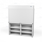 roll up shelving doors