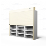 rolling file shelf security doors