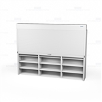locking file shelving doors