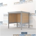 Mail mobile bench is a perfect solution for mail processing center strong aluminum framed console and comes in wide range of colors built from the highest quality materials In Line Workstations Let StoreMoreStore help you design your perfect mailroom