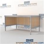 Mail flow workbench distribution is a perfect solution for literature fulfillment center durable design with a structural frame with an innovative clean design built using sustainable materials Over 1200 Mail tables available Efficient mail center table