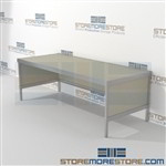Mail workstation equipment is a perfect solution for mail processing center durable work surface and variety of handles available built using sustainable materials Back to back mail sorting station Let StoreMoreStore help you design your perfect mailroom