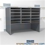 Hamilton Sorter O3-18E12 | SMS-90-O3-18E12 | 10550 Postal Furniture | Mailroom Furniture | Mail Equipment | Hamilton Sorter | Sorter | Mail Boxes