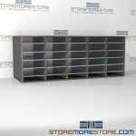 Hamilton Sorter S5-24PB | SMS-90-S5-24PB | 10550 Postal Furniture | Mailroom Furniture | Mail Equipment | Hamilton Sorter | Sorter | Mail Boxes