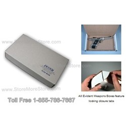 hand gun property evidence storage box