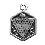 ABRACADABRA GOOD LUCK CHARM OCCULT PENDANT