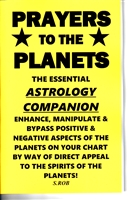 Prayers to the Planets BOOK: ASTROLOGY COMPANION by S. Rob occult magick