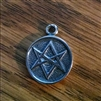 Aleister Crowley UNICURSAL HEXAGRAM PENDANT Thelema Magick occult LEAD FREE