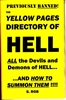 THE YELLOW PAGES OF HELL