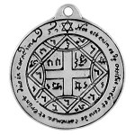 """COME TO ME"" LOVE PENDANT OCCULT SYMBOL"