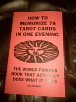 HOW TO MEMORIZE 78 TAROT CARDS IN 1 EVENING