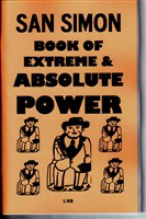 SAN SIMON book of extreme Absolute POWER by S. Rob occult magick folk saint