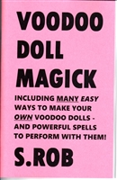 VOODOO DOLL MAGICK book by S. Rob occult