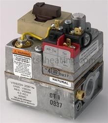 Honeywell Vs820h2081 Gas Valve Natural