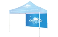 Custom Printed Tent Back wall single side $150.