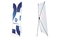 "ECO X - Banner Stand - 32x72""  (CLEARANCE) Hardware only"