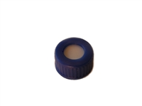 Ribbed R.A.V. Caps w/Septa for 9-425 Thread Vials Silicone/PTFE Septa