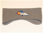 Colorado Denver Broncos Polar Fleece Headband by Brawlin