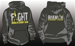 FIGHT Hoodie BCG Two-Tone by Brawlin