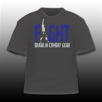 FIGHT Two-Tone BCG Tee by Brawlin