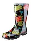 Slogger Women's Rain Boot Black