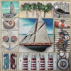1021 Sailboat Collage