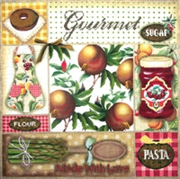 1034 Gourmet Collage