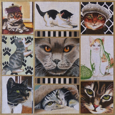 1046 Cat Collage