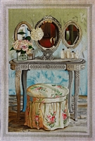 1070d Shabby Chic Dressing Table