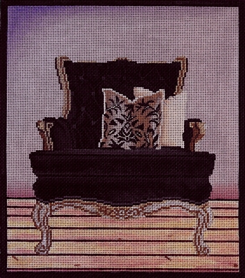 1072b Black Chair