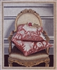1073a Gold Chair with Pillows