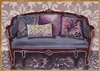1075a Purple Couch