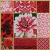 1084 Pink Dahlia Collage