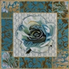 1090 Teal Rose Collage