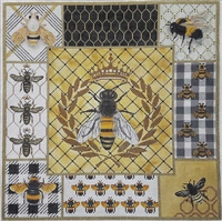 1101 Honey Bee Collage