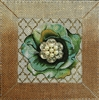 114d Green Bling Flower