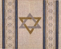 395N Star of David Tallis Bag