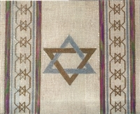395f Star of David Tallis bag