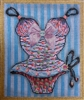810g Blue Beaded Teddy
