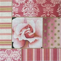 952 Pink Rose Collage 1