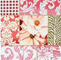 953 Pink Rose Collage 2